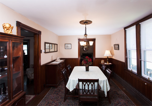 Rental dining room